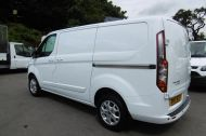 FORD TRANSIT CUSTOM 290/125 LIMITED L1H1 LWB IN WHITE WITH SAT NAV,AIR CONDTIONING,HEATED SEATS,ELECTRIC PACK,ALLOY WHEELS AND MORE - 1174 - 7
