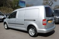 VOLKSWAGEN CADDY MAXI C20 TDI HIGHLINE IN SILVER WITH ONLY 41.000 MILES,AIR CONDITIONING,SAT NAV,ELECTRIC PACK AND MORE - 1099 - 4
