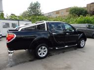 MITSUBISHI L200 DI-D 4X4 BARBARIAN LB DCB MANUAL WITH AIR CONDITIONING , LEATHER AND SAT NAV , AWAITING VALET **** £10795 + VAT **** - 1429 - 4