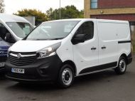 VAUXHALL VIVARO 2900 L1 SWB WITH ONLY 53.000 MILES,AIR CONDITIONING,SENSORS,ELECTRIC PACK,RACKING AND MORE  - 1586 - 1