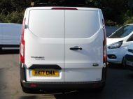 FORD TRANSIT CUSTOM 290 L1 SWB 6 SEATER DOUBLE CAB COMBI CREW VAN IN WHITE WITH BLUETOOTH,6 SPEED,EURO 6 AND MORE *** SOLD *** - 1550 - 7