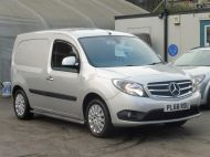 MERCEDES CITAN 111 CDI SPORT 1.5 CDI 110 EURO 6  LONG IN METALLIC SILVER , AIR CONDITIONING , WITH ONLY 9000 MILES **** £13995 + VAT **** - 1660 - 3