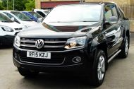 VOLKSWAGEN AMAROK  2.0 TDI 180 HIGHLINE AUTOMATIC 4 MOTION TECH DOUBLE CAB WITH FULL GREY LEATHER , JUST ARRIVED **** £14995 + VAT **** - 1463 - 23