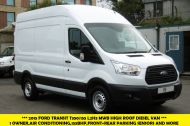 FORD TRANSIT 350/155 L2H3 RARE MWB HIGH ROOF DIESEL VAN WITH AIR CONDITIONING,FRONT+REAR SENSORS,155PS AND MORE - 1171 - 3