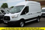 FORD TRANSIT 350/155 L2H3 RARE MWB HIGH ROOF DIESEL VAN WITH AIR CONDITIONING,FRONT+REAR SENSORS,155PS AND MORE - 1171 - 1