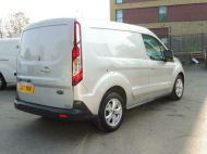 FORD TRANSIT CONNECT 200 LIMITED L1 SWB EURO 6 VAN IN SILVER WITH ONLY 41.000 MILES,AIR CONDITIONING,ELECTRIC PACK,SENSORS,ALLOY'S AND MORE - 1555 - 5