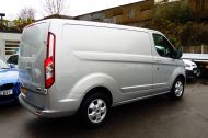 FORD TRANSIT CUSTOM 290/130 LIMITED L1H1 LWB IN SILVER WITH ONLY 21.000 MILES,2.0 130PS EURO 6,AIR CONDITIONING AND MORE - 1261 - 6