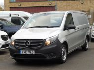 MERCEDES VITO 111 CDI LWB IN SILVER WITH ONLY 58.000 MILES,AIR CONDITIONING,CRUISE CONTROL,BLUETOOTH,6 SPEED AND MORE - 1632 - 26