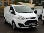FORD TRANSIT CUSTOM 290/130 LIMITED L1 SWB EURO 6 WITH ONLY 17.000 MILES,2.0 130PS EURO 6,AIR CONDITIONING,PARKING SENSORS AND MORE - 1252 - 19