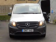 MERCEDES VITO 111 CDI LWB IN SILVER WITH ONLY 58.000 MILES,AIR CONDITIONING,CRUISE CONTROL,BLUETOOTH,6 SPEED AND MORE - 1632 - 25
