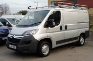 CITROEN RELAY 33 L1 H1 ENTERPRISE 2.2 HDI 130 SWB IN METALLIC SILVER WITH ONLY 10000 MILES , JUST ARRIVED , AWAITING MORE PICTURES **** £11495 + VAT **** - 1263 - 1