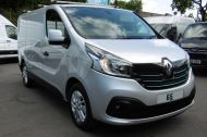 RENAULT TRAFIC SL27 SPORT ENERGY L1H1 SWB DCI IN SILVER WITH ONLY 64.000 MILES,AIR CONDITIONING,SAT NAV,PARKING SENSORS **** SOLD **** - 1282 - 22
