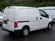 NISSAN NV200 1.5DCi ACENTA SWB EX BRITISH GAS WITH AIR CONDITIONING,ELECTRIC PACK,REVERSE CAMERA **** SOLD **** - 1405 - 6