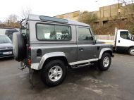 LAND ROVER DEFENDER 90 XS STATION WAGON 2.4 TDCI 120 6 - SPEED IN METALLIC GREY WITH HALF LEATHER AND AIR CONDITIONING , JUST ARRIVED **** £20995 **** - 1297 - 4