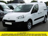 PEUGEOT PARTNER 1.6HDI PROFESSIONAL L1 850 WITH ONLY 50.000 MILES AIR CONDITIONING,ELECTRIC PACK AND MORE - 1144 - 1