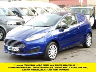 FORD FIESTA VAN 1.5 TDCI WITH AIR CONDITIONING IN DEEP IMPACT BLUE WITH ONLY 54.000 MILES - 1234 - 1