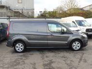 FORD TRANSIT CONNECT 240 LIMITED L2 LWB EURO 6 IN GREY WITH AIR CONDITIONING,SENSORS,ALLOY'S,PARKING SENSORS,ELECTRIC PACK,BLUETOOTH AND MORE  - 1597 - 8