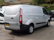FORD TRANSIT CUSTOM 290 TREND L1H1 SWB IN SILVER 2.0 EURO 6 WITH ONLY 34.000 MILES,FRONT+REAR PARKING SENSORS,ELECTRIC PACK AND MORE  - 1383 - 4
