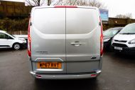 FORD TRANSIT CUSTOM 290/130 LIMITED L1H1 LWB IN SILVER WITH ONLY 21.000 MILES,2.0 130PS EURO 6,AIR CONDITIONING AND MORE - 1261 - 4