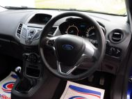 FORD FIESTA VAN 1.5 TDCI WITH AIR CONDITIONING IN DEEP IMPACT BLUE WITH ONLY 54.000 MILES - 1234 - 11