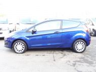 FORD FIESTA VAN 1.5 TDCI WITH AIR CONDITIONING IN DEEP IMPACT BLUE WITH ONLY 54.000 MILES - 1234 - 8