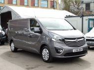 VAUXHALL VIVARO 2900 L2H1 CDTI SPORTIVE IN GREY WITH ONLY 54.000 MILES,AIR CONDITIONING,SAT NAV,ALLOY WHEELS AND MORE *** SOLD *** - 1359 - 3