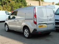 FORD TRANSIT CONNECT 200 LIMITED L1 SWB EURO 6 VAN IN SILVER WITH ONLY 41.000 MILES,AIR CONDITIONING,ELECTRIC PACK,SENSORS,ALLOY'S AND MORE - 1555 - 4