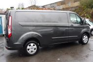FORD TRANSIT CUSTOM 290/130 LIMITED L2H1 LWB IN MAGNETIC GREY WITH ONLY 23.000 MILES,2.0 130PS EURO 6,AIR CONDITIONING AND MORE - 1239 - 6