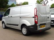 FORD TRANSIT CUSTOM 290 TREND L1H1 SWB IN SILVER 2.0 EURO 6 WITH ONLY 34.000 MILES,FRONT+REAR PARKING SENSORS,ELECTRIC PACK AND MORE  - 1383 - 5