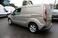 FORD TRANSIT CONNECT 200 LIMITED 115PS L1H1 SWB IN SILVER WITH AIR CONDITIONING,ALLOY WHEELS,ELECTRIC PACK,SENSORS , JUST ARRIVED  **** £9995 + VAT  **** - 1175 - 6