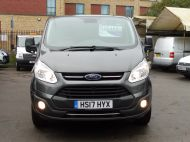 FORD TRANSIT CUSTOM 290/130 LIMITED EURO 6 L2 LWB IN MAGNETIC GREY WITH ONLY 23.000 MILES,2.0 130PS,AIR CONDITIONING **** SOLD **** - 1239 - 2