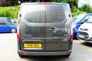 FORD TRANSIT CUSTOM 280/130 LIMITED L1H1 SWB 2.0 TDCI EURO 6 IN MAGNETIC GREY NEW SHAPE MODEL WITH ONLY 18.000 MILES AND MORE - 1437 - 7
