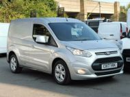 FORD TRANSIT CONNECT 200 LIMITED L1 SWB EURO 6 VAN IN SILVER WITH ONLY 41.000 MILES,AIR CONDITIONING,ELECTRIC PACK,SENSORS,ALLOY'S AND MORE - 1555 - 3