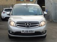 MERCEDES CITAN 111 CDI SPORT 1.5 CDI 110 EURO 6  LONG IN METALLIC SILVER , AIR CONDITIONING , WITH ONLY 9000 MILES **** £13995 + VAT **** - 1660 - 2