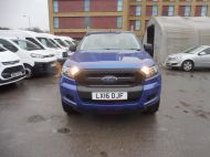 FORD RANGER XL 4X4 S/C 2.2 TDCI 160 6-SPEED WITH ALUMINIUM DROPSIDE BODY IN DEEP IMPACT BLUE , AIR CONDITIONING , ONLY 28000 MILES **** DEPOSIT TAKEN **** - 1663 - 2