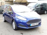 FORD FIESTA VAN 1.5 TDCI WITH AIR CONDITIONING IN DEEP IMPACT BLUE WITH ONLY 54.000 MILES - 1234 - 15