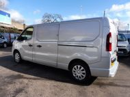 VAUXHALL VIVARO 2900 L2H1 LWB CDTI SPORTIVE IN SILVER WITH AIR CONDITIONING,PARKING SENSORS,ELECTRIC PACK AND MORE *** SOLD *** - 1335 - 6