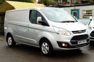 FORD TRANSIT CUSTOM 290/130 LIMITED L1H1 LWB IN SILVER WITH ONLY 21.000 MILES,2.0 130PS EURO 6,AIR CONDITIONING AND MORE - 1261 - 3