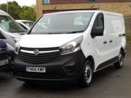 VAUXHALL VIVARO 2900 L1 SWB WITH ONLY 53.000 MILES,AIR CONDITIONING,SENSORS,ELECTRIC PACK,RACKING AND MORE  - 1586 - 26