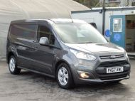 FORD TRANSIT CONNECT 240 LIMITED L2 LWB EURO 6 IN GREY WITH AIR CONDITIONING,SENSORS,ALLOY'S,PARKING SENSORS,ELECTRIC PACK,BLUETOOTH AND MORE  - 1597 - 4
