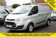 FORD TRANSIT CUSTOM 290 TREND L1 SWB IN SILVER 2.0 EURO 6 ULEZ WITH PARKING SENSORS,CRUISE,ELECTRIC PACK AND MORE *** CHOICE OF 2 FROM £11995+VAT *** - 1387 - 3