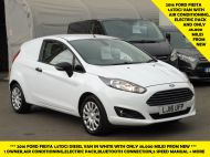 FORD FIESTA VAN 1.5 TDCI EURO 6 WITH ONLY 48.000 MILES,AIR CONDITIONING,BLUETOOTH,ELECTRIC PACK AND MORE - 1481 - 1