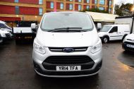 FORD TRANSIT CUSTOM 290 LIMITED L2 H1 125 LWB IN METALLIC SILVER WITH AIR CONDTIONING **** JUST ARRIVED ***** £9995 + VAT  - 1258 - 2