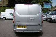 FORD TRANSIT CUSTOM 270/125 LIMITED L1H1 SWB DIESEL VAN IN SILVER WITH ONLY 57.000 MILES,AIR CONDITIONING,HEATED SEATS,ELECTRIC PACK,CRUISE CONTROL,ALLOY WHEELS AND MORE  - 1111 - 5