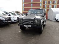 LAND ROVER DEFENDER 90 XS STATION WAGON 2.4 TDCI 120 6 - SPEED IN METALLIC GREY WITH HALF LEATHER AND AIR CONDITIONING , JUST ARRIVED **** £20995 **** - 1297 - 2