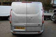 FORD TRANSIT CUSTOM 270/125 LIMITED L1H1 SWB DIESEL VAN IN SILVER WITH ONLY 18.000 MILES,AIR CONDITIONING,HEATED SEATS,ELECTRIC PACK,CRUISE CONTROL,ALLOY WHEELS AND MORE - 1041 - 4