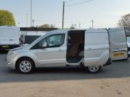 FORD TRANSIT CONNECT 200 LIMITED L1 SWB EURO 6 VAN IN SILVER WITH ONLY 41.000 MILES,AIR CONDITIONING,ELECTRIC PACK,SENSORS,ALLOY'S AND MORE - 1555 - 18