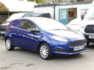 FORD FIESTA VAN 1.5 TDCI WITH AIR CONDITIONING IN DEEP IMPACT BLUE WITH ONLY 54.000 MILES - 1234 - 3