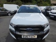 FORD RANGER WILDTRAK 4X4 3.2 TDCI 200 AUTOMATIC DOUBLE CAB  ** EURO 6 **IN WHITE WITH ONLY 26000 MILES **** £22995 + VAT **** - 1575 - 2