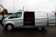 FORD TRANSIT CUSTOM 290/130 LIMITED L1H1 LWB IN SILVER WITH ONLY 21.000 MILES,2.0 130PS EURO 6,AIR CONDITIONING AND MORE - 1261 - 8